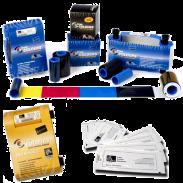 Compre on-line consumibles para impresoras de tarjetas Zebra